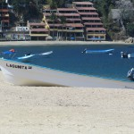 Water Taxi's at Yelapa Beach