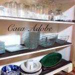 lots of dishes for entertaining
